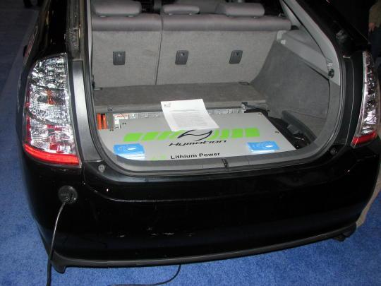 hymotion battery installed peak oil garage. Black Bedroom Furniture Sets. Home Design Ideas