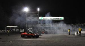 Tesla Roadster vs Tesla Roadster at Pacific Raceways 8/7/09